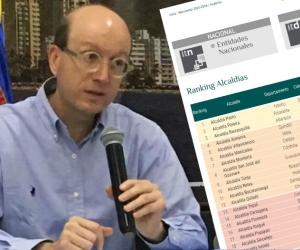 Andrés Rugeles, secretario de Transparencia, paradójicamente usa cifras desactualizadas.