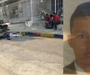 Jean Carlos Martínez Pinilla, de 24 años, fue abatido.