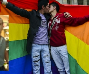 Rechazo a la discriminación contra parejas gay