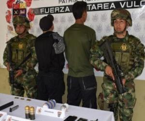 Disidentes capturados.