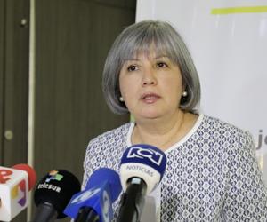 Patricia Linares, presidenta de la JEP.
