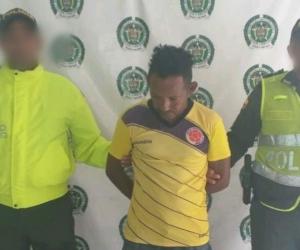 Lorenzo Acosta Feria fue capturado en Fundación, por presuntamente violar y embarazar a su hijastra.