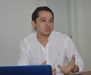Maikol Grandett, nuevo director de contratación de la Alcaldía de Santa Marta.