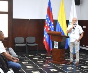 Gonzalo Gutiérrez, secretario de Hacienda departamental, manifestó que este espacio permitió revisar la realidad de la deuda que se tiene con el fondo prestacional.