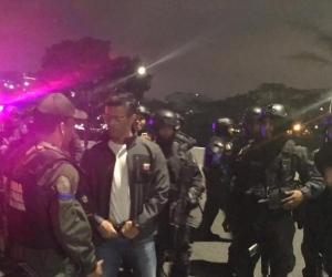 Liberación de Leopoldo López.