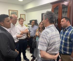 Jorge Escobar Silebi acompañó a Andrés Rugeles desde su llegada a la Alcaldía de Santa Marta.