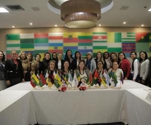 El objetivo del evento fue el fortalecimiento institucional de género en las regiones, con el fin de crear espacios para el empoderamiento en los territorios.