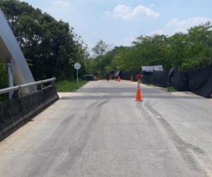 Puente donde habría sido interceptada la víctima.