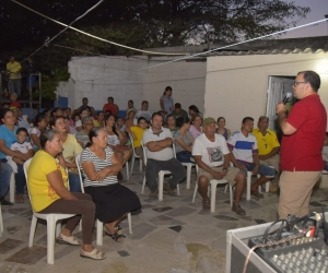 Socialización de proyecto de ampliación del sexto tramo de la calle 30 en La Lucha