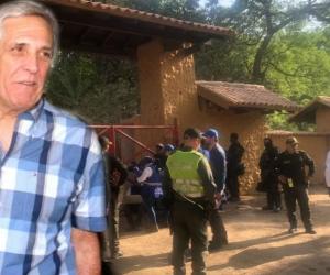 Eduardo Dávila figura como parte de la sociedad que es dueña del predio en Bahía Concha.
