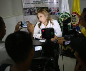 La funcionaria manifestó que la administración departamental está trabajando de forma articulada con las instituciones y organismos de seguridad.
