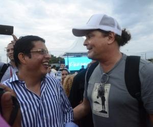 Carlos Vives y Pablo Vera