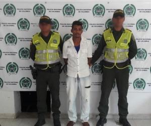 El capturado fue identificado como Franklin Pérez Martínez.