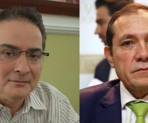 Hernando Guido y Antonio Sanguino.