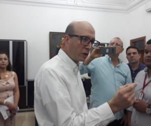 Declaraciones de Andrés Rugeles al término de la junta directiva de la Essmar.