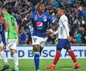 Fabián González marcó el único gol del partido.