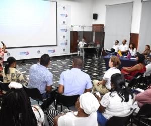 Gobernación del Magdalena con comunidad afro discuten temas de necesidades