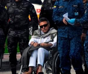 Jesús Santrich salió de la cárcel y fue recapturado por miembros de CTI.