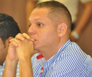 Edgardo Pérez, alcalde de Ciénaga.