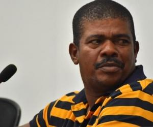 Gimy Chapman durante la audiencia de imputación donde el fiscal narró el interrogatorio realizado al sobrino Randy.