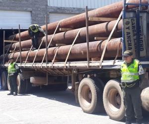 Decomisan 19 tubos que no cumplían con las restricciones legales y administrativas