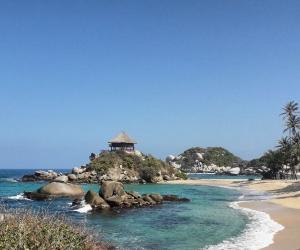 Cabo San Juan, una de las playas del Parque Tayrona