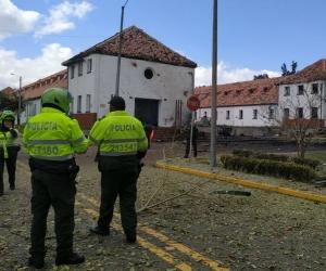 Capturan a hombre vinculado al atentado contra Escuela General Santander
