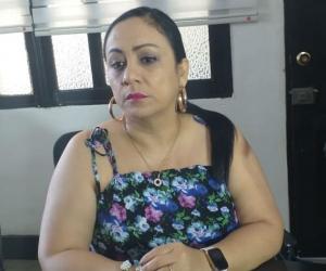 Claudia Patricia Aarón, presidente de la Duma.