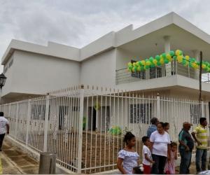 Inauguración del Centro de Vida y Casa de la Cultura en Cabrera, Pijiño