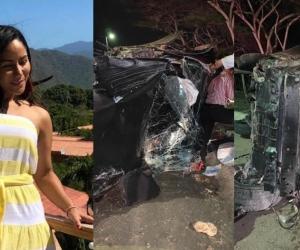 La abogada y docente Tania Guillot Deluque murió en un accidente de tránsito