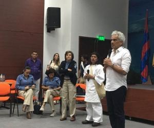 La nueva socialización del plan de manejo fue presidida por el ministro de Ambiente, Ricardo Lozano.