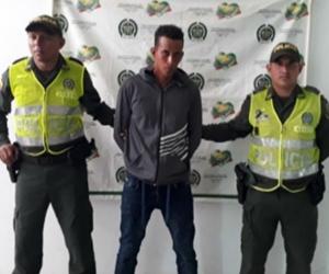 Ever Nova, capturado por las autoridades en Cesar por presuntamente haber violado a menor de 12 años.