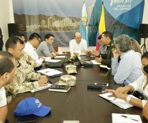 Consejo de seguridad para definir medidas frente al asesinato de un líder de Guachaca.