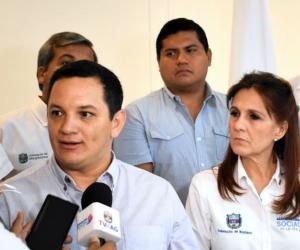 Reunion entre Gobernación y Contraloría.