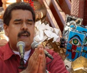 Maduro y la santería cubana