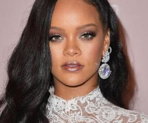 Rihanna, cantante.