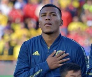 El delantero colombiano Roger Martínez.