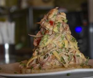 La arepa marina es uno de los platos en competencia.
