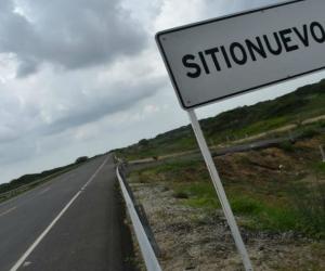 Carretera Via la Prosperidad, a la altura de Sitio Nuevo