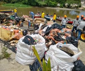 Desechos recogidos en Playatón 2019 de este sábado 8 de junio
