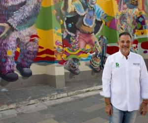 Juan José Jaramillo, secretario de Cultura del Distrito de Barranquilla.