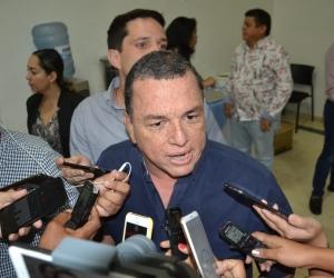 El presidente del Concejo Distrital, Jaime Linero.