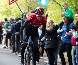 Chris Froome en una competencia del Dauphiné 2019.