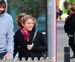 Imagenes por las cuales se rumora que shakira esta embarazada hace semanas.