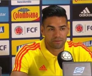 Falcao García, jugador.