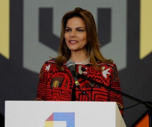La presidenta de Procolombia, Flavia Santoro.