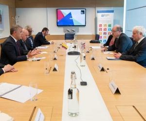 El Presidente Iván Duque y su visita al Instituto Francis Crick.