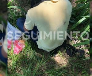 Esta foto fue fundamental para dar con el sitio exacto donde tenían secuestrado al estudiante.