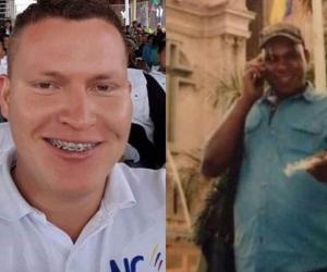 Anderson Pérez Osorio y Daniel Esterilla.