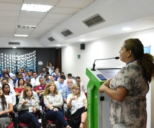 En Diálogos por el agua, se desarrollaron temas como las acciones que se han ejecutado para hacer frente a desafíos como la escasez de agua y el cambio climático.
